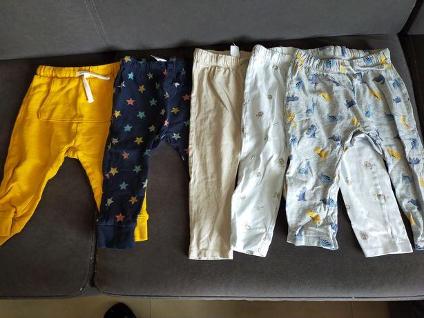 Spodnie zestaw komplet 86 92 hm