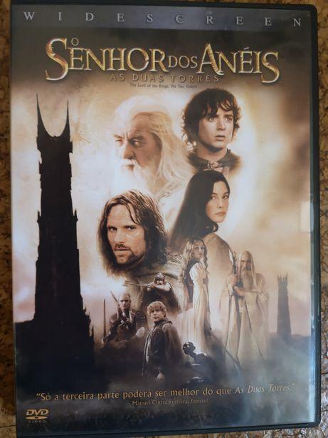 """DVD """"O Senhor dos Anéis - As Duas Torres"""""""