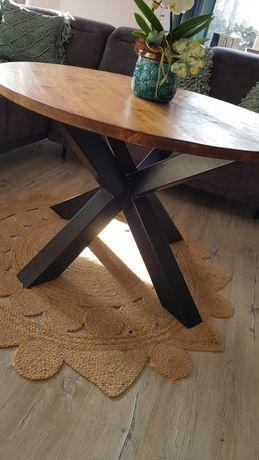 Stół loftowy okrągły.