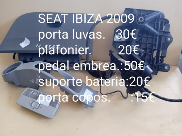 Peças para Seat Ibiza 2009