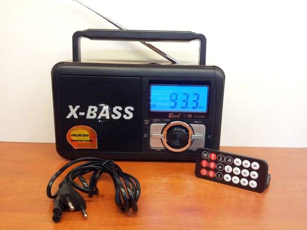 Radio FM z odtwarzaczem MP3. Wejście USB/SD/TF sterowany pilotem.