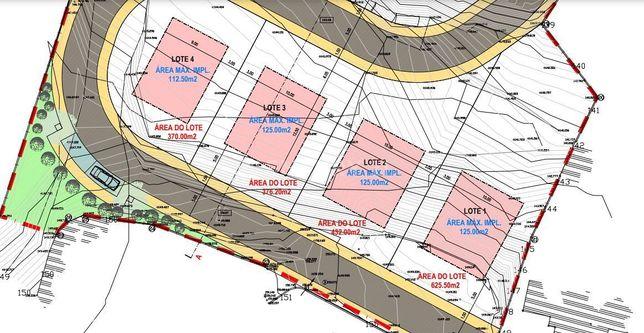 Terreno Urbano c/ Projecto Aprovado 7 moradias  LOUREL / SINTRA   - 2