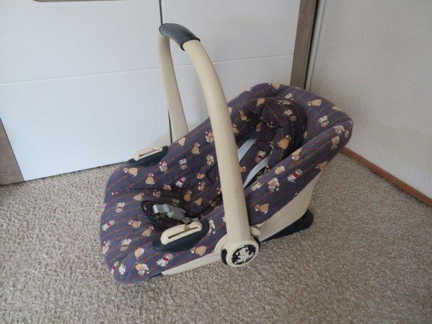 Fotelik nosidełko samochodowe dla dziecka 0-10 kg