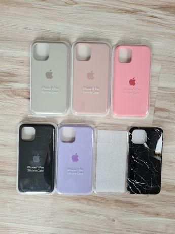 Etui case obudowa pokrowiec iphone 11pro 11 pro silikonowe transparent