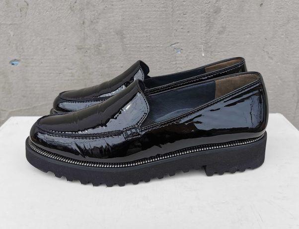 Кожаные лоферы туфли слипоны Paul Green 37 р. Оригинал