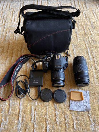 Aparat Canon EOS 600d + obiektyw + akcesoria