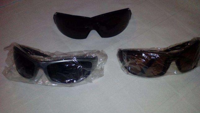 3 pares de óculos