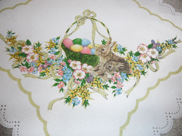 Serwetka na Wielkanoc