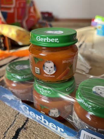 Пюре Gerber морковь