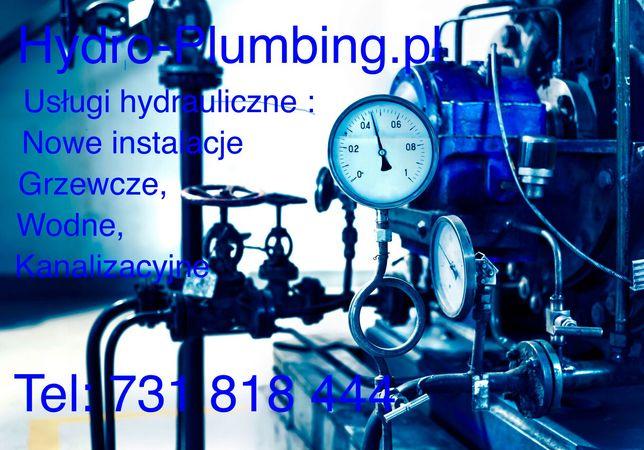 Usługi hydrauliczne, hydraulik