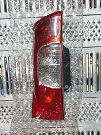 Farolim esquerdo Luz Tras Peugeot Bipper / Citroen Nemo / Fiat Fiorino 2008 2009 2010 2011 2012 2013