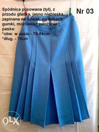 Spódnica plisowana - 6 sztuk (Pa-01)