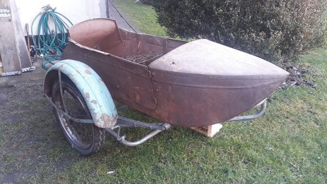 Harley Davidson J JD 1928 rok wózek boczny
