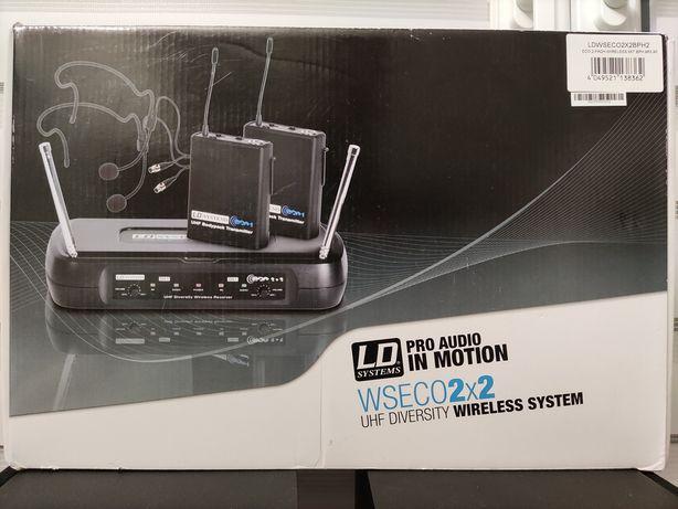 Mikrofony  LD Systems WS ECO2x2 BPH2 mikrofon bezprzewodowy