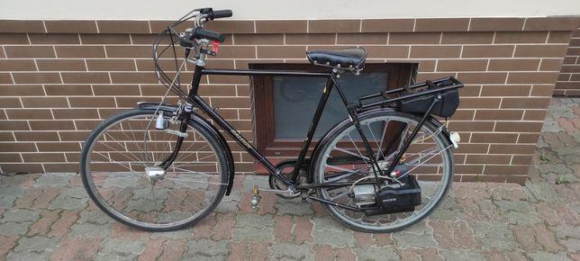 Rower RALEIGH z napędem spalinowym