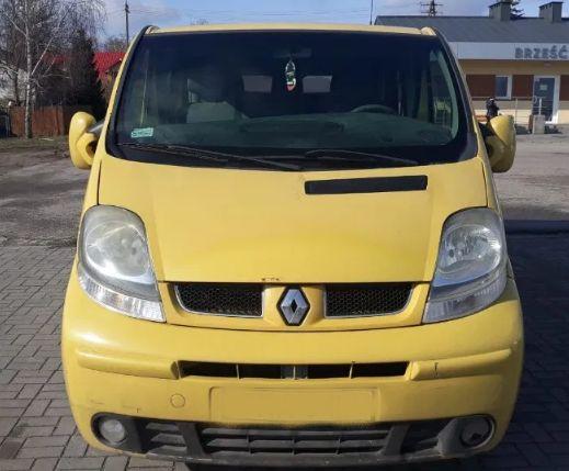 Разборка Renault Trafic 2 2.0dci Форсунки Двигатель Фара