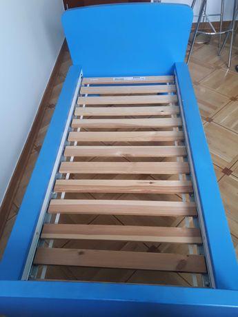 Łóżko Mammut niebieskie