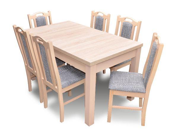 Zestaw do jadalni Z4 - stół + 6 krzeseł