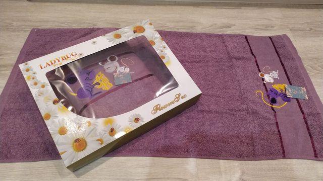 Набор полотенец махра