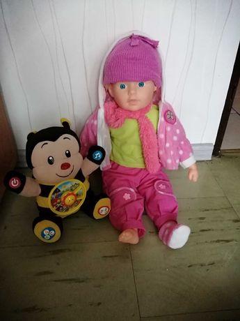 Lalka grająca i śpiewająca piosenki razem z przczołka Tosia grająca