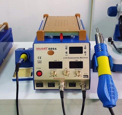 Мощная паяльная станция 3 в 1+сепаратор Yaxun Ya Xun 889A+Выход USB 5V