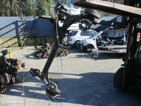 Eixo Traseiro Tambor Chevrolet Aveo / Kalos Hatchback (T200)