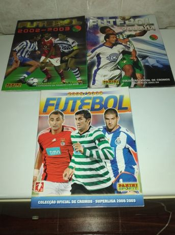 Cadernetas Panini Futebol - 2002 a 2009