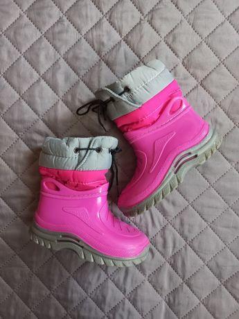 Демисезонные резиновые сапоги сапожки ботинки