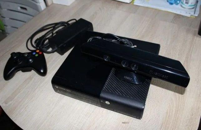 XBOX 360 KINECT dwa pady i dwie gry
