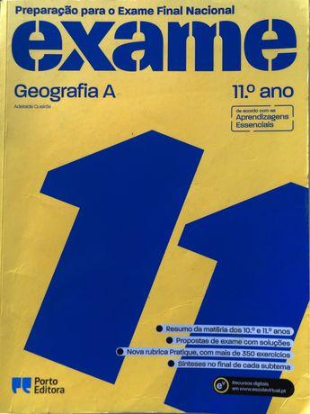 Geografia A: Exame 11° ano