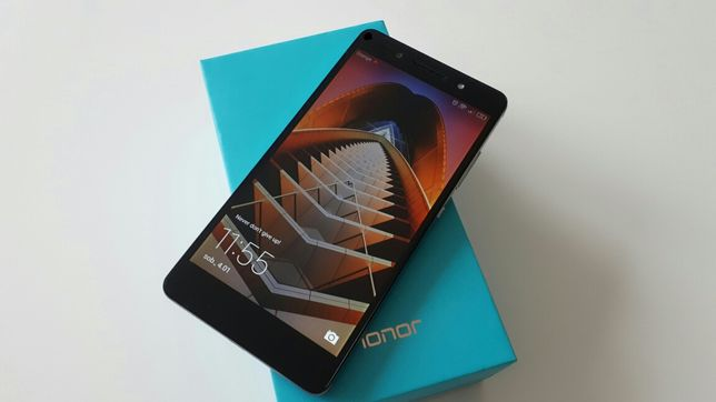 Honor 7 kolor Mystery grey, stan BDB nowa bateria