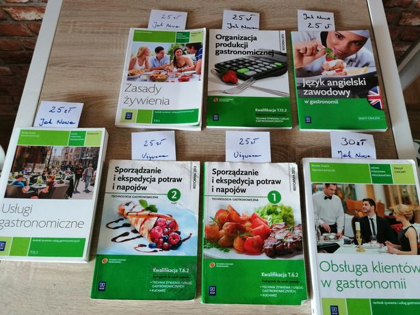 Podręczniki do gastronomii