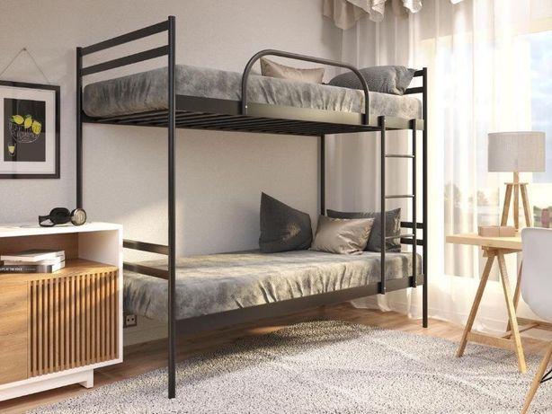 АКЦИЯ!!! Двухъярусная металлическая кровать Комфорт дуо металл
