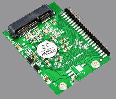 НОВИЙ! Msata ide mini sata pata 44 pin адаптер ssd переходник 1.8 2.5