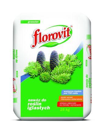 FLOROVIT добриво для хвойних 25кг. Флоровіт