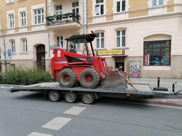 Transport Wynajem laweta dmc 3000 kg pod busa i przyczepa 750 kg