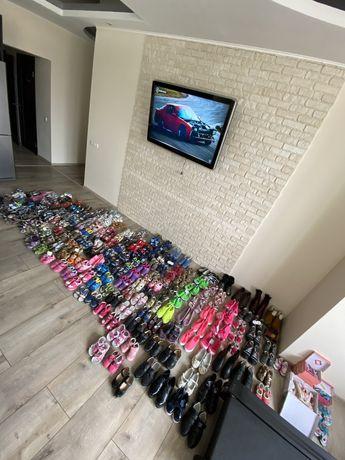 Распродажа новой детской обуви (мальчик, девочка) разные размеры