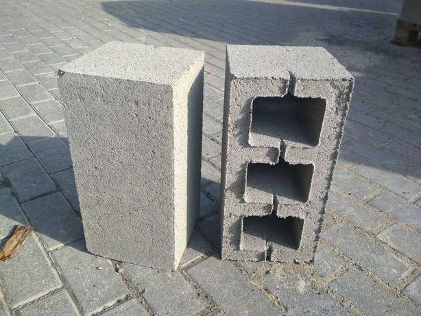 Шлакоблоки, Керамзитоблоки 190х390х190мм. Блоки стінові будівельні
