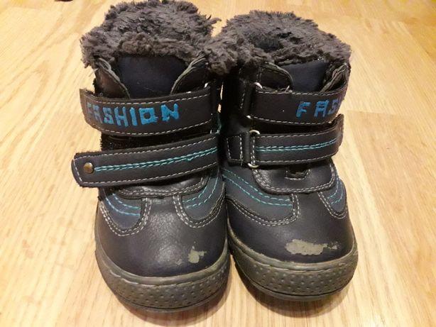 Buty buciki dla chłopca rozm. 22