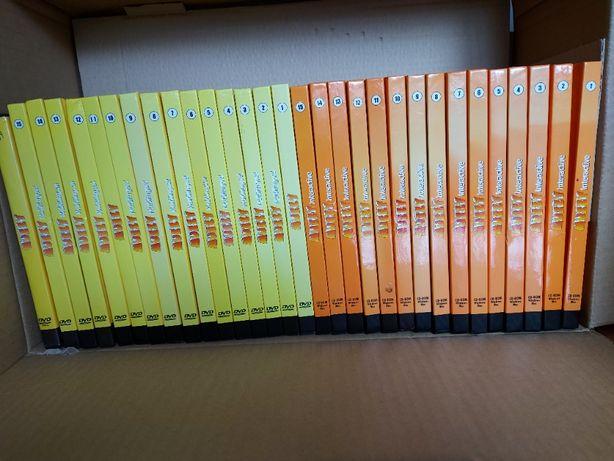 Muzzy Coleçao completa curso 5 linguas (15 CD's + 15 DVD's)