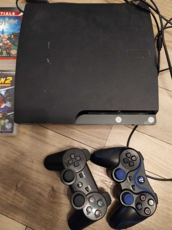 Konsola PS3  2 pady