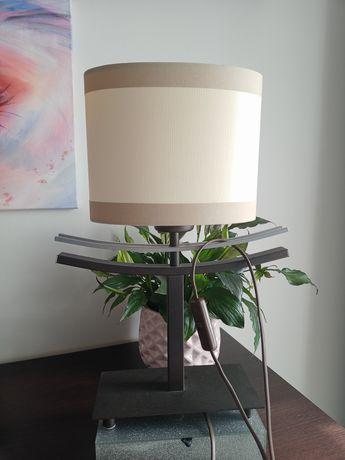 Lampka lampa żarówka E27 40cm brązowa
