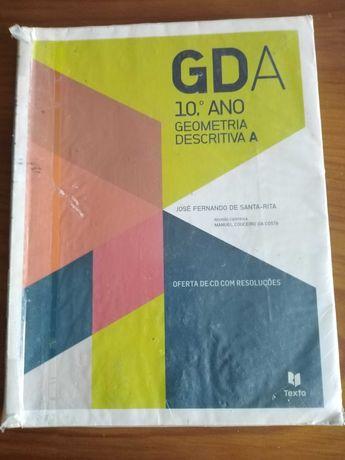 Manual+caderno de atividades geometria descritiva 10º, 11º  anos
