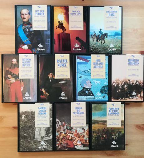 Lote de Livros Coleção Ibero Americana