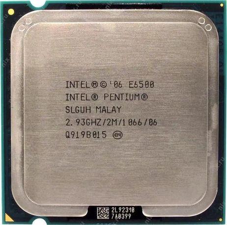 Продам процессор Intel Pentium Dual Core E6500 (socket 775)(2х2.93GHz)