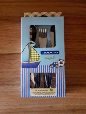 Набор столовых приборов для детей Tramontina Ложка Вилка Нож