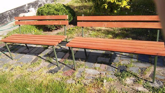 ławka ogrodowa meble na balkon 2szt