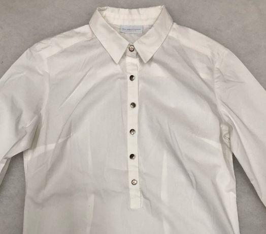 Koszula biała damska NEW YORK & COMPANY STRETCH size XS z USA