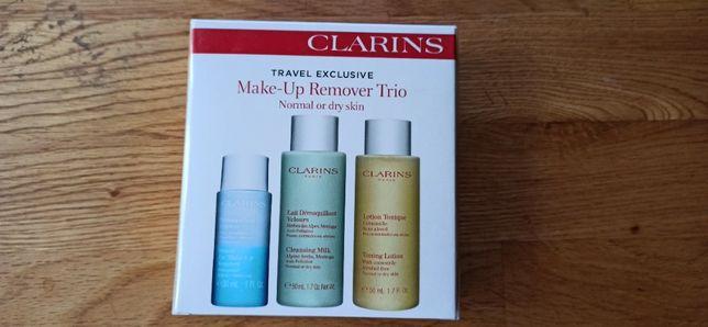Clarins Make-Up Remover Trio Zestaw dla kobiet Płyn do demakijażu