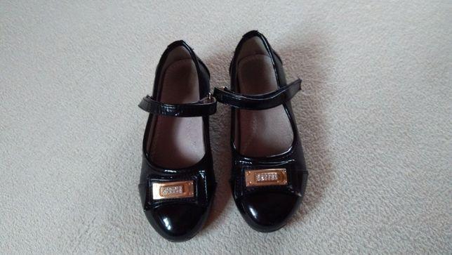 Baleriny, lakierki, buty dziewczęce 27